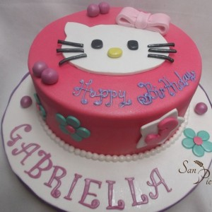 gâteau Hello Kitty pour Gabriella / Hello Kitty for Gabriella cake