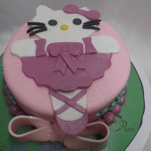 gâteau Hello Kitty Ballerina / Hello Kitty Ballerina cake