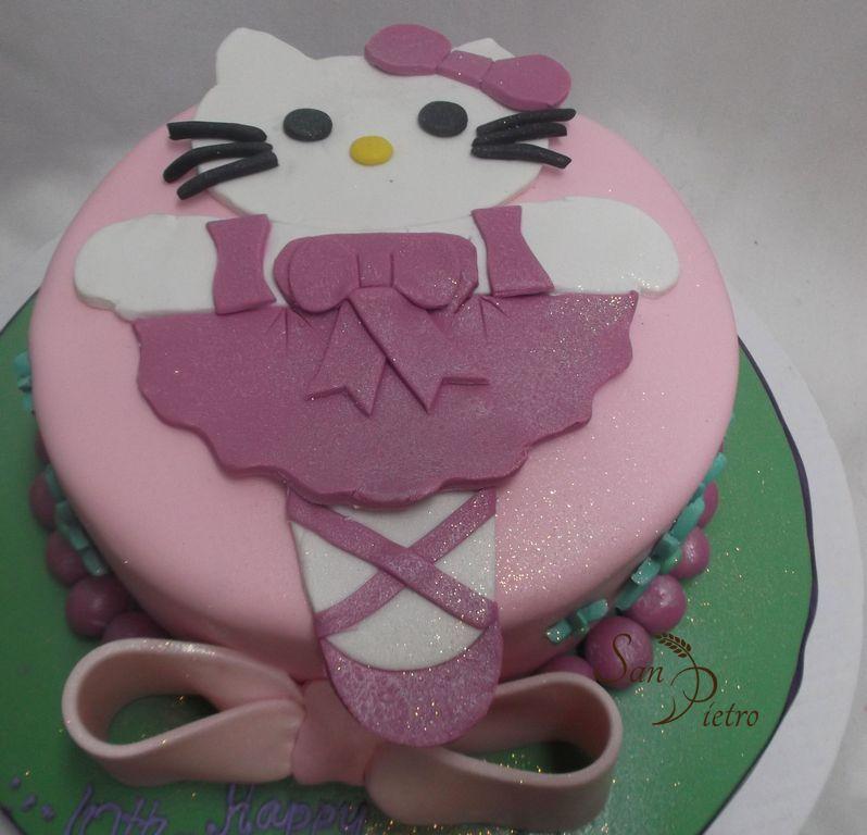 f47f90dbc ... gâteau Hello Kitty Ballerina / Hello Kitty Ballerina cake ...