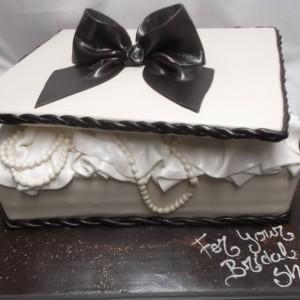 Boîte à bijoux gâteau / Jewlery Box Cake