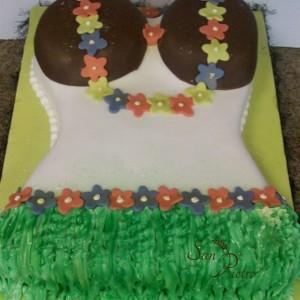 gâteau Alhoa Hawaiian / Hawaiian Alhoa Cake