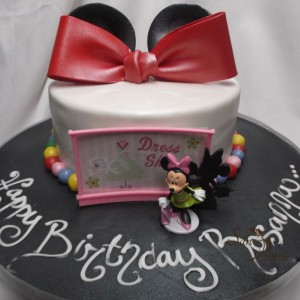 gâteau Minnie Mouse pour Rosana / Minnie Mouse cake for Rosanna