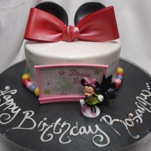gâteau Minnie Mouse pour Rosana / Minnie Mouse cake for Rosanna