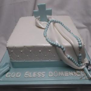 gâteau Baptême pour Domenico / Baptism cake for Domenico
