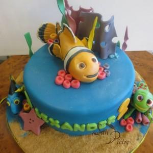 gâteau Nemo / Nemo cake