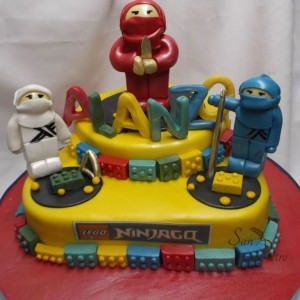 gâteau Ninjago / Ninjago cake