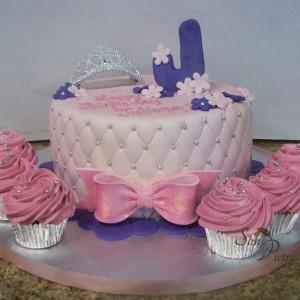 gâteau Princesse J / Princess J cake