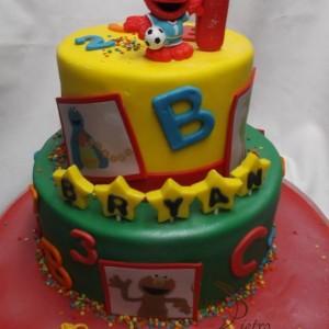 gâteau Sesame Street pour Bryan / Sesame Street for Bryan