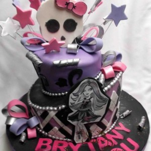 gâteau Monster High / Monster High cake
