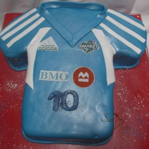 gâteau Impact Jersey Impact Jersey cake
