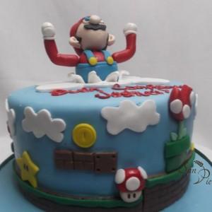 gâteau SuperMario Joshua Birthday cake 2