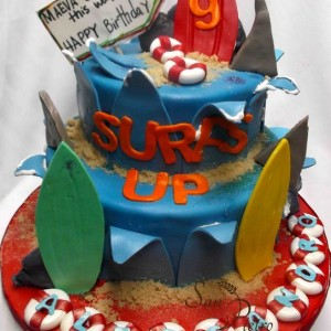 gâteau Surfs Up / Surfs Up Cake