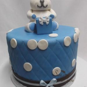 De Polka Dot Ourson gâteau / Teddy Bear Polka Dot cake