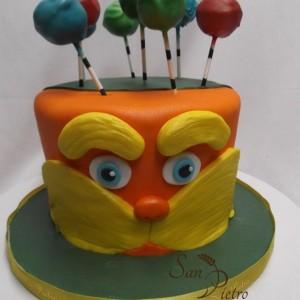 gâteau le Lorax / The Lorax cake
