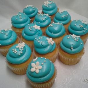 Aqua-cupcakes