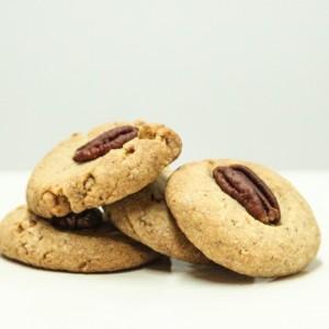 Biscuits au pecans / Pecan butter cookies