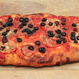 Foccacia Tomates et Olives / Tomatoe and Olives