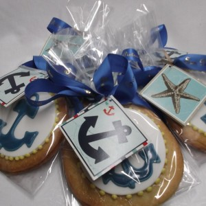 Natuical theme cookie