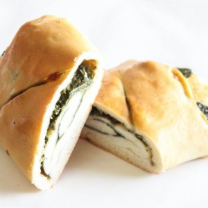 Spinach and Mozzarella Rolls