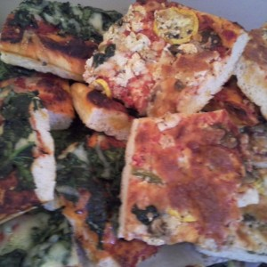 Spinach and Veggie Pizza mix