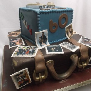 Valise de memoire/ suitcase-cake memory