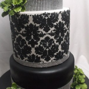 Damask-and-bling