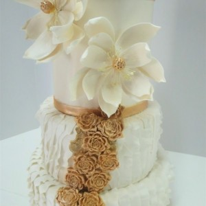 Or et Ruffle / Gold and Ruffles