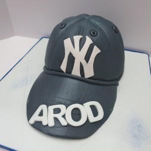 Yankee cap for Arod